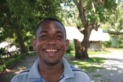 "The desire to improve the lives of his fellow Solomon Islanders comes from Holland's deep Christian faith. ""That is the driving force behind me,"" he says. ""I prioritise people's needs. They are my brothers and sisters. They deserve to have these opportunities."""